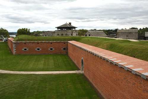 The Scarp Walls