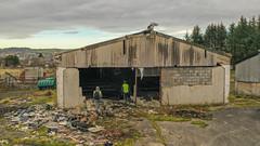 Photo of Abandoned Slaughterhouse / Abattoir, Bathgate, Scotland.