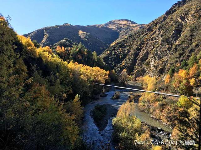 秋天的箭河步道很美
