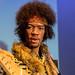 Extraordinairy guitarist Jimmi Hendrix