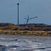 Weeeeeeeeeeeeee.... Kite Surfers taking advantage of the Strong Winds at The Ijmuiden Sea entrance to Amsterdam 12/03/2020