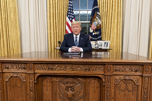 President Trump Addresses the Nation by The White House, on Flickr
