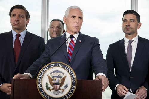 Vice President Pence Participates in a P by The White House, on Flickr