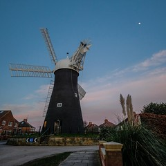 Holgate Windmill at sunset, March 2020 - 2