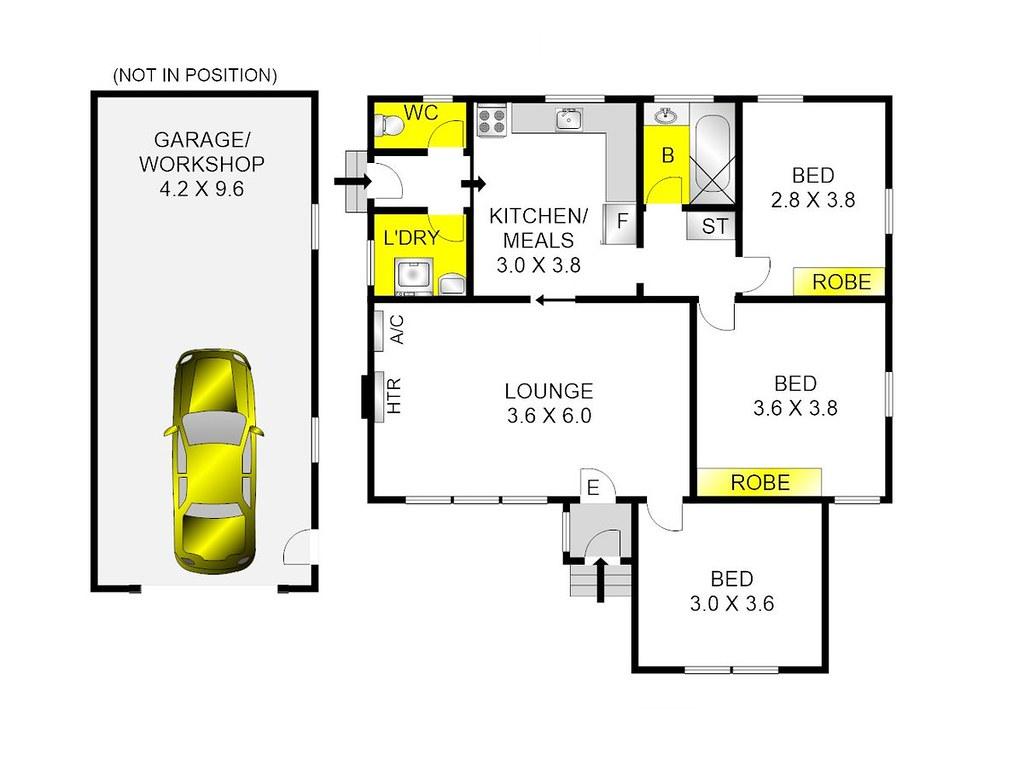 11 Michigan Avenue floorplan