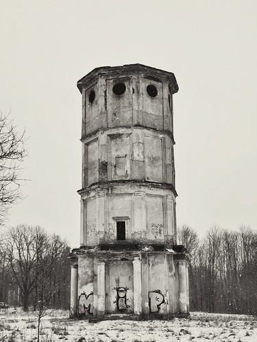 abandonned tower ©  Sergei F
