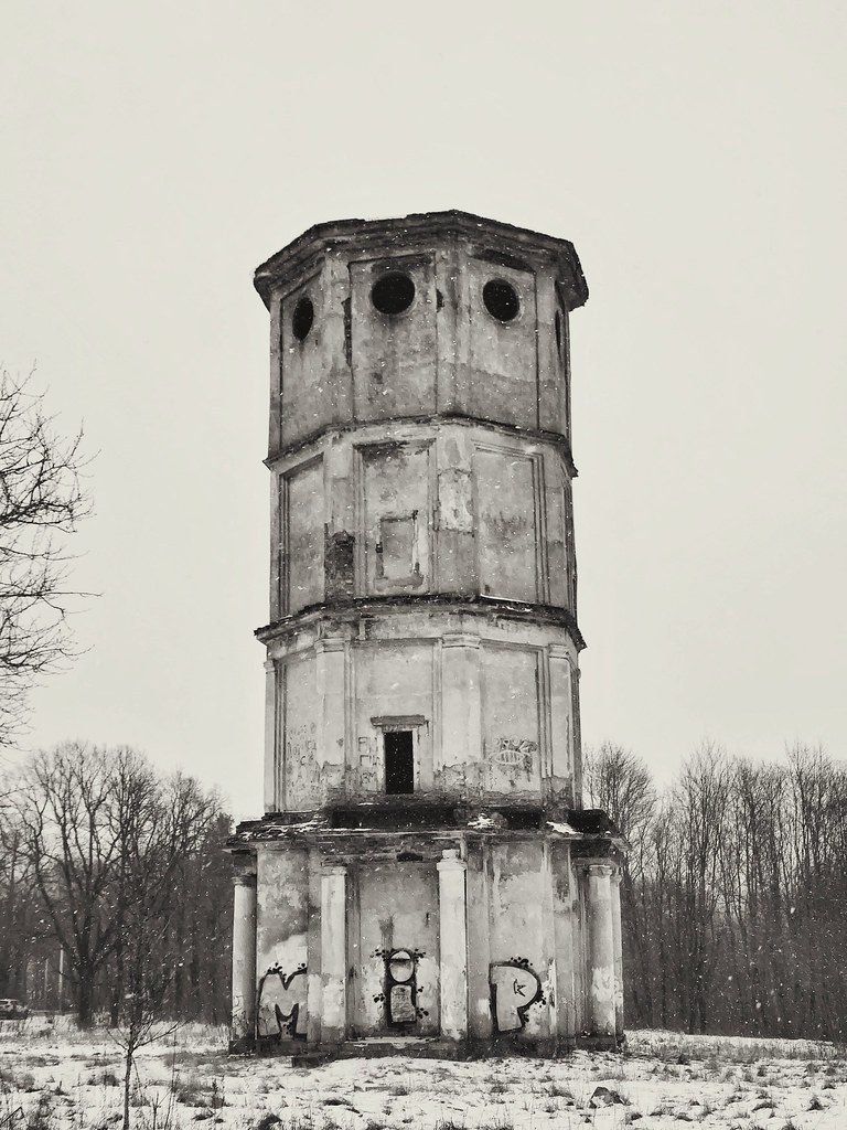 фото: abandonned tower