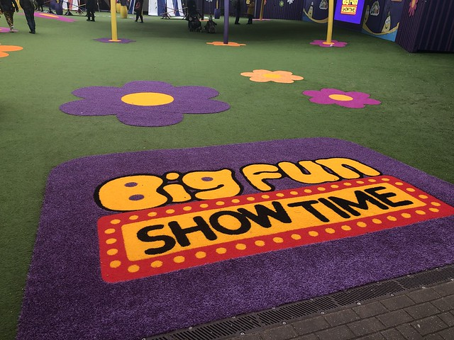 Big Fun Showtime - new entrance sign for 2020