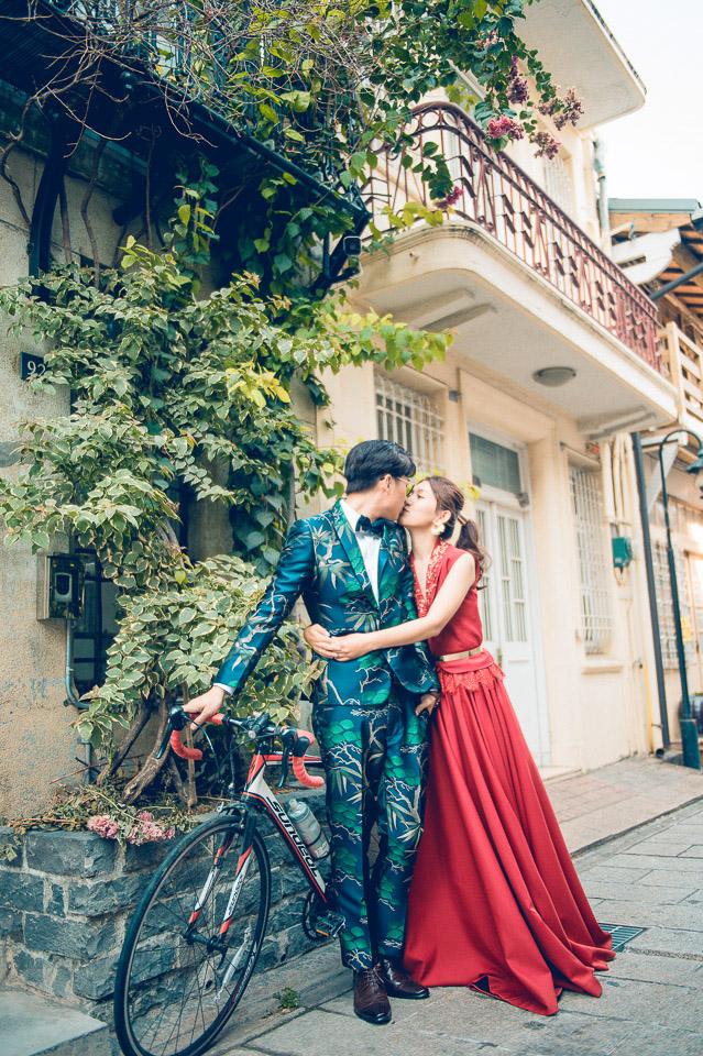 台南自助婚紗 | Hermosa Wedding | 神農街的美麗邂逅
