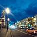 Saint Petersburg At Night, Nevsky Prospekt