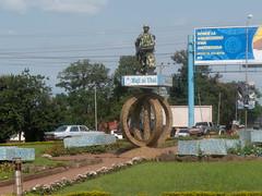 Maji ni Uhai, Water for Life, Statue, Memorial for Soldier