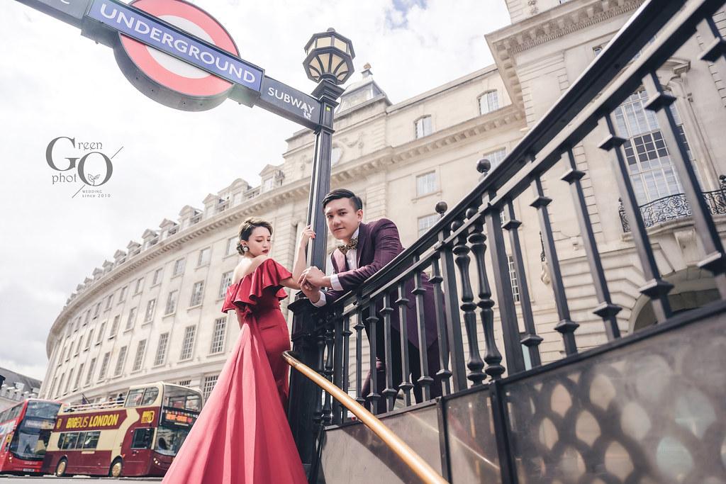 綠攝影像_海外婚紗_英國倫敦婚紗_武少