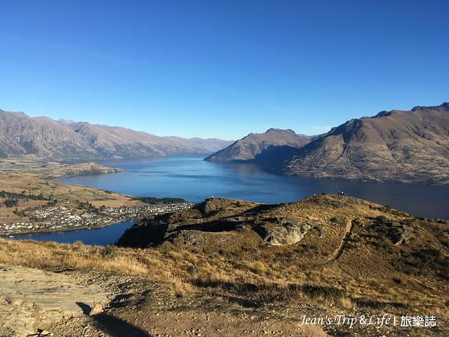 如詩如畫的瓦卡蒂普湖Lake Wakatipu