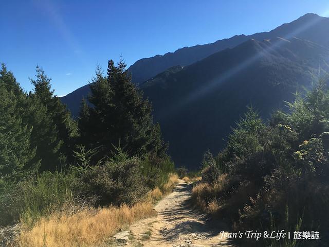 開始陡坡的路段