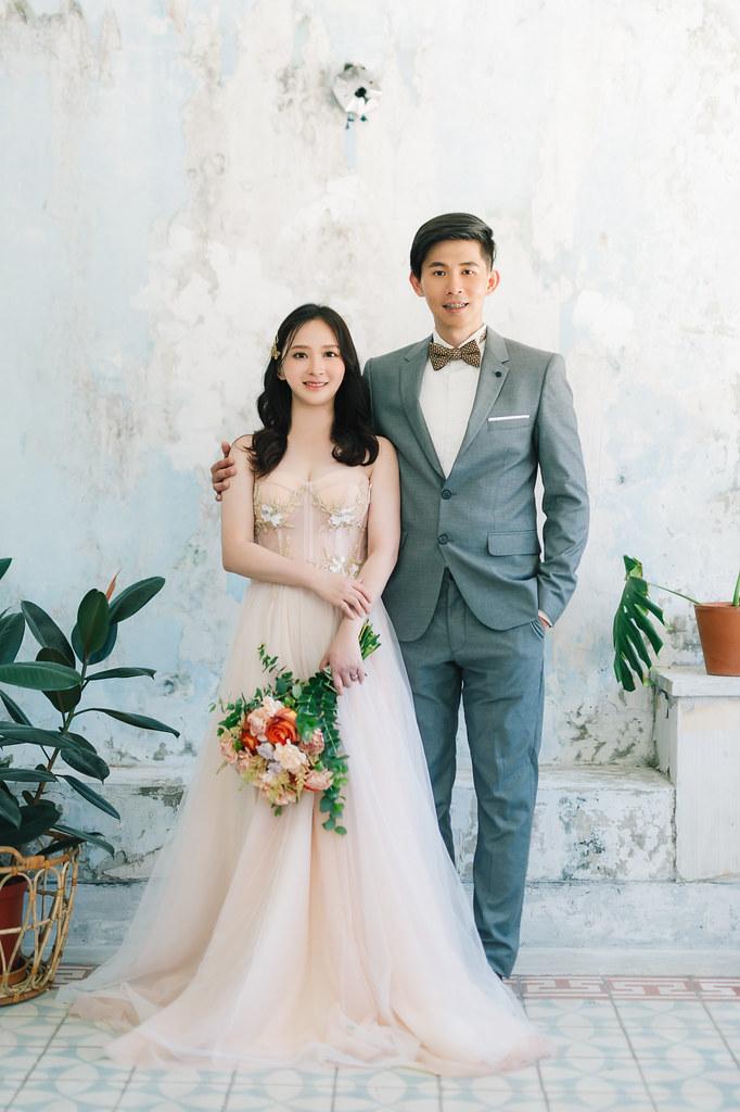 [自助婚紗] 奎元&哲甄|三文攝影棚|漁光島|奇美博物館