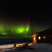 Northern Lights over Crowberry Cabin