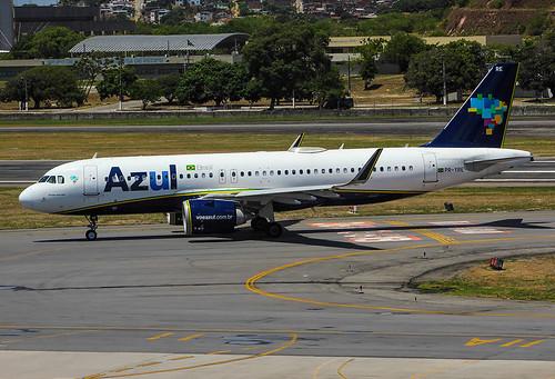Airbus A320-251N PR-YRE Azul