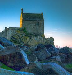 Chapelle Saint-Aubert, Mont Saint-Michel