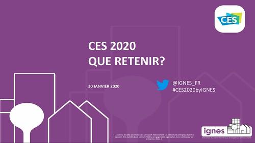 2020 Débriefing CES Ignes