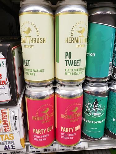 Hermit Thrush Beers