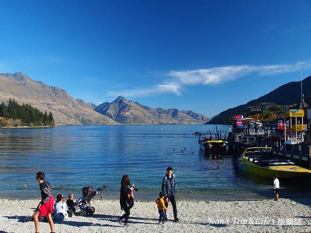 紐西蘭皇后鎮瓦卡蒂普湖 Lake Wakatipu