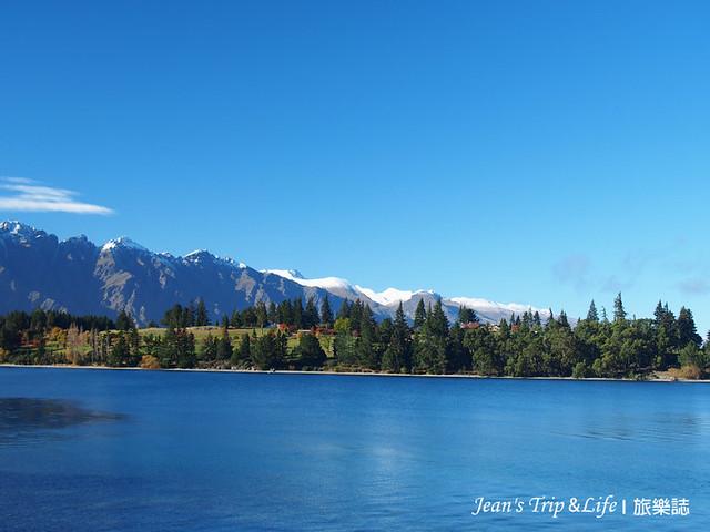 皇后鎮瓦卡蒂普湖Lake Wakatipu的景色非常優美
