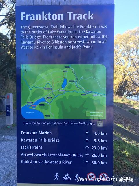瓦卡蒂普湖Lake Wakatipu 附近的健走步道