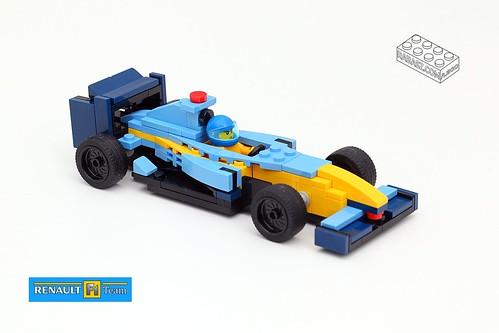 F1 Renault R25 - LEGO MOC