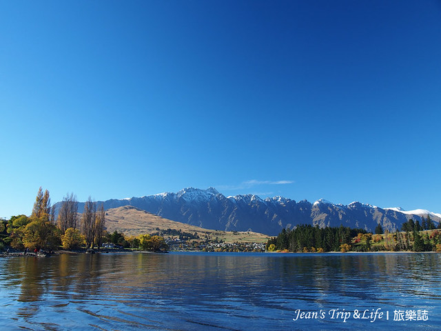 美景如畫的瓦卡蒂普湖Lake Wakatipu