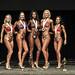 Bikini Masters 4th Webb 2nd Majczak 1st Adisi 3rd Cadieux 5th Kowalchuk