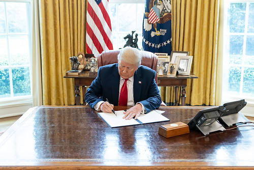 President Trump Signs a National Emergen by The White House, on Flickr