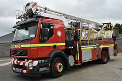 Limerick Fire & Rescue Service 2008 Volvo FE280 Angloco Bronto Skylift F27RLH ALP 08LK5457