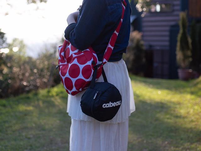 Cabeau S3特色-拉鍊式收納袋