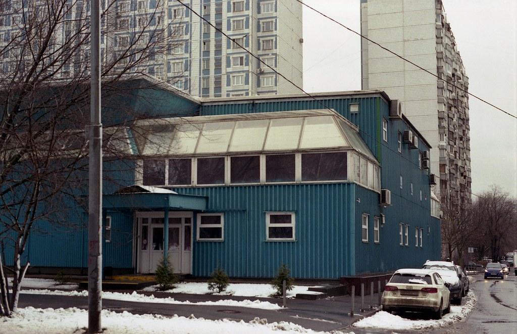 фото: Здание спорткомплекса на улице Раменки