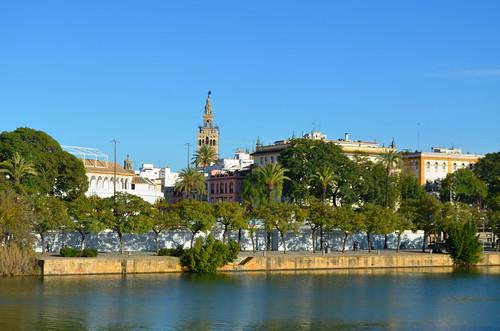 Guadalquivir [Seville - 24 December 2019]