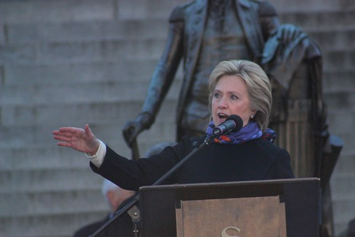 Hillary Clinton speaking at King Day at the Dome, Columbia, South Carolina, 18 January 2016