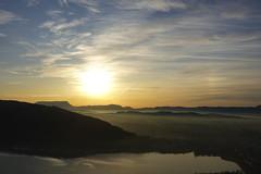 Lake Annecy @ Sunset @ Belvédère du Col du Pré Vernet @ Mont Veyrier
