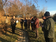 Seminarians pray the Outdoor Stations of the Cross, on the grounds of the Seminary – Friday, March 13, 2020.