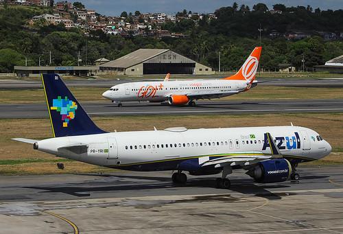 PR-YRI  Airbus A320-251N  Azul   SBRF