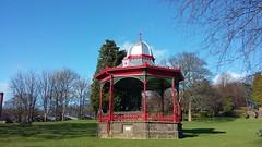 Photo of Memorial Bandstand, Queen Elizabeth Gardens, Brechin, Feb 2020