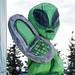 Cell Phone Alien