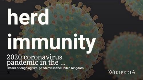 Herd immunity #covid19 #coronavirus @wikipedia