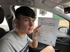 Massive congratulations  to James Mayo passing his driving test with only 1 minor fault! Well done mate!  www.leosdrivingschool.com  WARNING: Getting your license is a good achievement however being a SAFE driver for life is the biggest achievement!