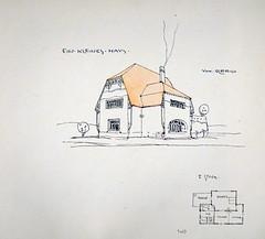 """Ouvrage """"Ideen von Olbrich"""" (Cité de l'architecture, Paris)"""