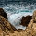 Waves near Santa Cesarea Terme