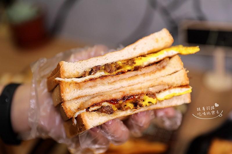 多士號台北信義店炭烤吐司 芋泥吐司 肉蛋吐司早午餐084