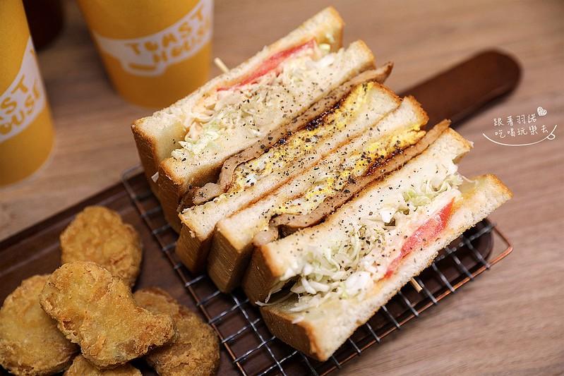 多士號台北信義店炭烤吐司 芋泥吐司 肉蛋吐司早午餐039