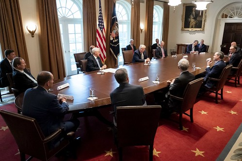 President Trump Meets with Tourism Indus by The White House, on Flickr