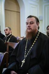 18 марта 2020, В семинарии прошла встреча с игуменом Арсением (Соколовым)