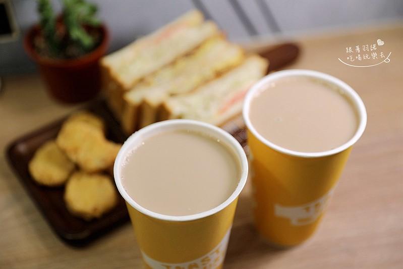 多士號台北信義店炭烤吐司 芋泥吐司 肉蛋吐司早午餐020